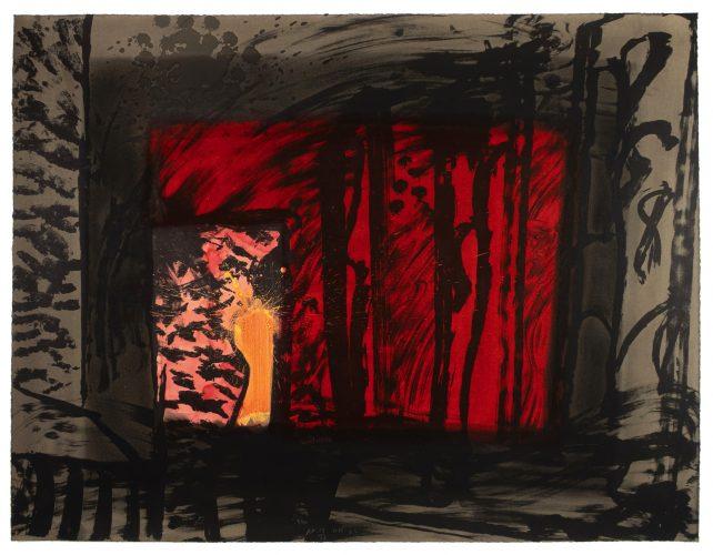 Blood by Howard Hodgkin