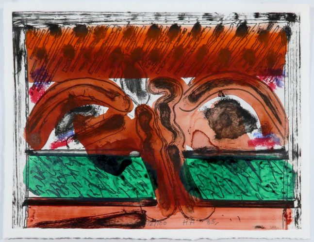 DH in Hollywood by Howard Hodgkin