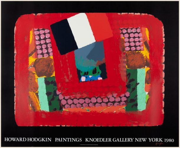 In a French Restaurant (Knoedler Gallery) by Howard Hodgkin at Howard Hodgkin