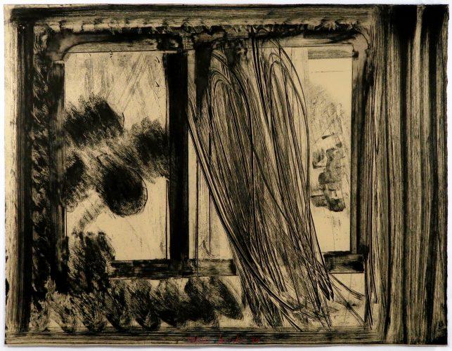 Late Afternoon by Howard Hodgkin at Howard Hodgkin