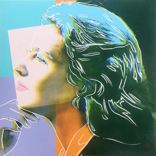 Ingrid Bergman: Herself by Andy Warhol