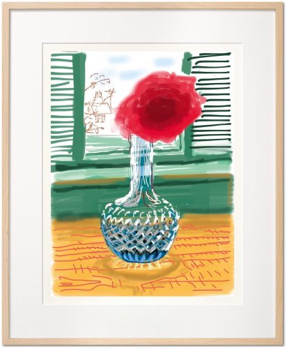 My Window. Art Edition (No. 251–500) 'No. 281', 23rd July 2010 by David Hockney