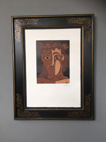 Jeune Homme Couronné de Feuillage by Pablo Picasso at Pablo Picasso