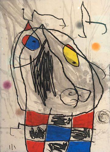 """""""Passage de L'Égyptienne"""" (D.1186) by Joan Miro"""