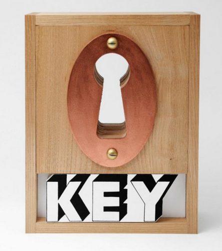 Key box by Joe Tilson at