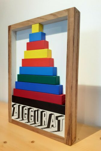 Ziggurath by Joe Tilson at