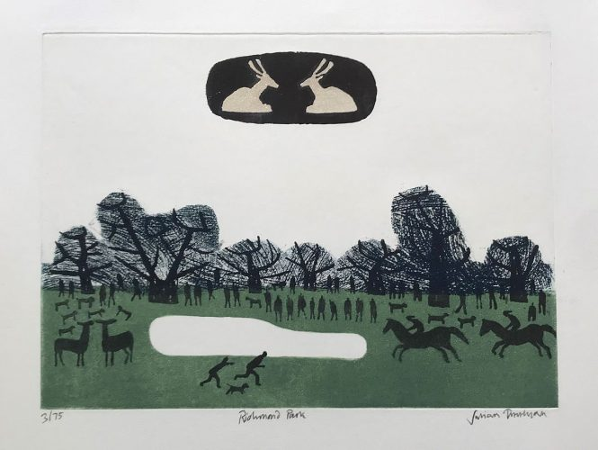 Richmond Park by Julian Trevelyan