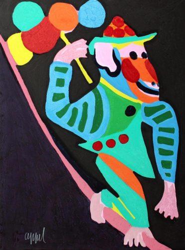 Circus suite #13 by Karel Appel