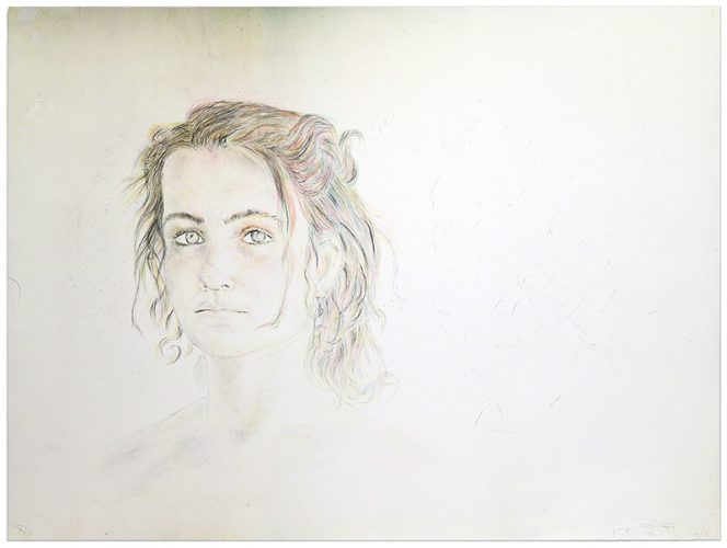 Girl by Kiki Smith