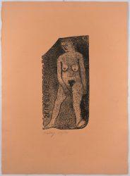 Nude Sculpture by R.B. Kitaj at