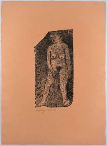 Nude Sculpture by R.B. Kitaj