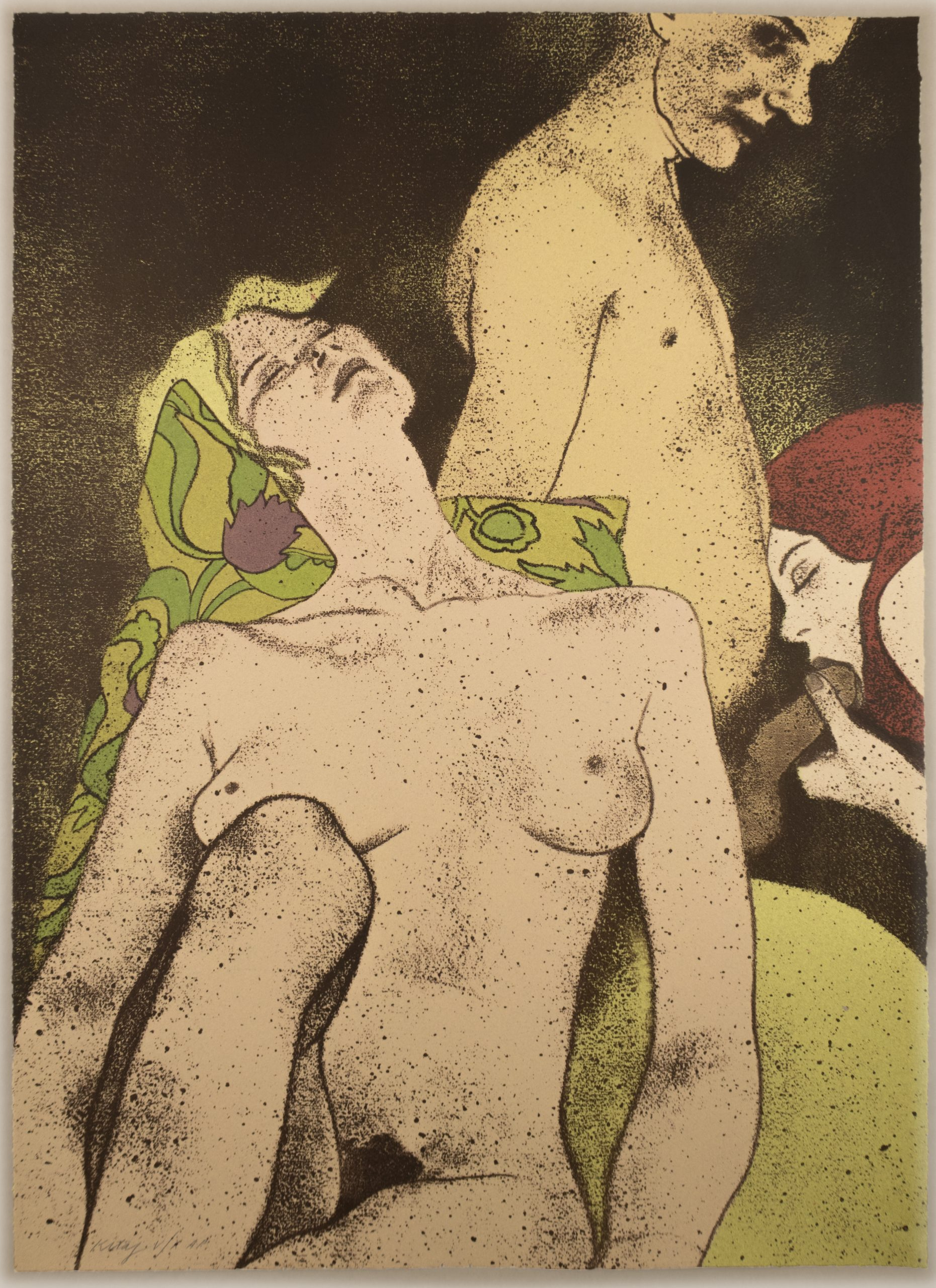 A Rash Act by R.B. Kitaj