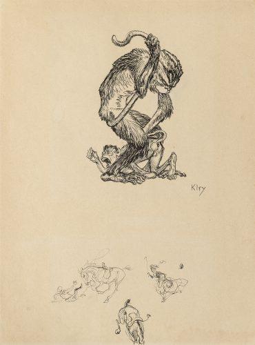 The Teacher by Heinrich Kley