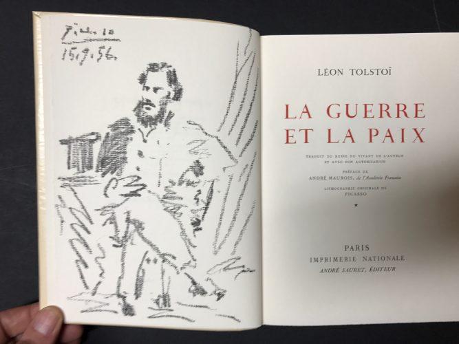 Leon Tolstoi by Pablo Picasso