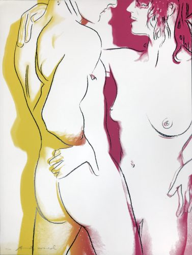 Love II.311 by Andy Warhol at Hamilton-Selway Fine Art