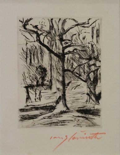 Im Tiergarten by Lovis Corinth at Lovis Corinth