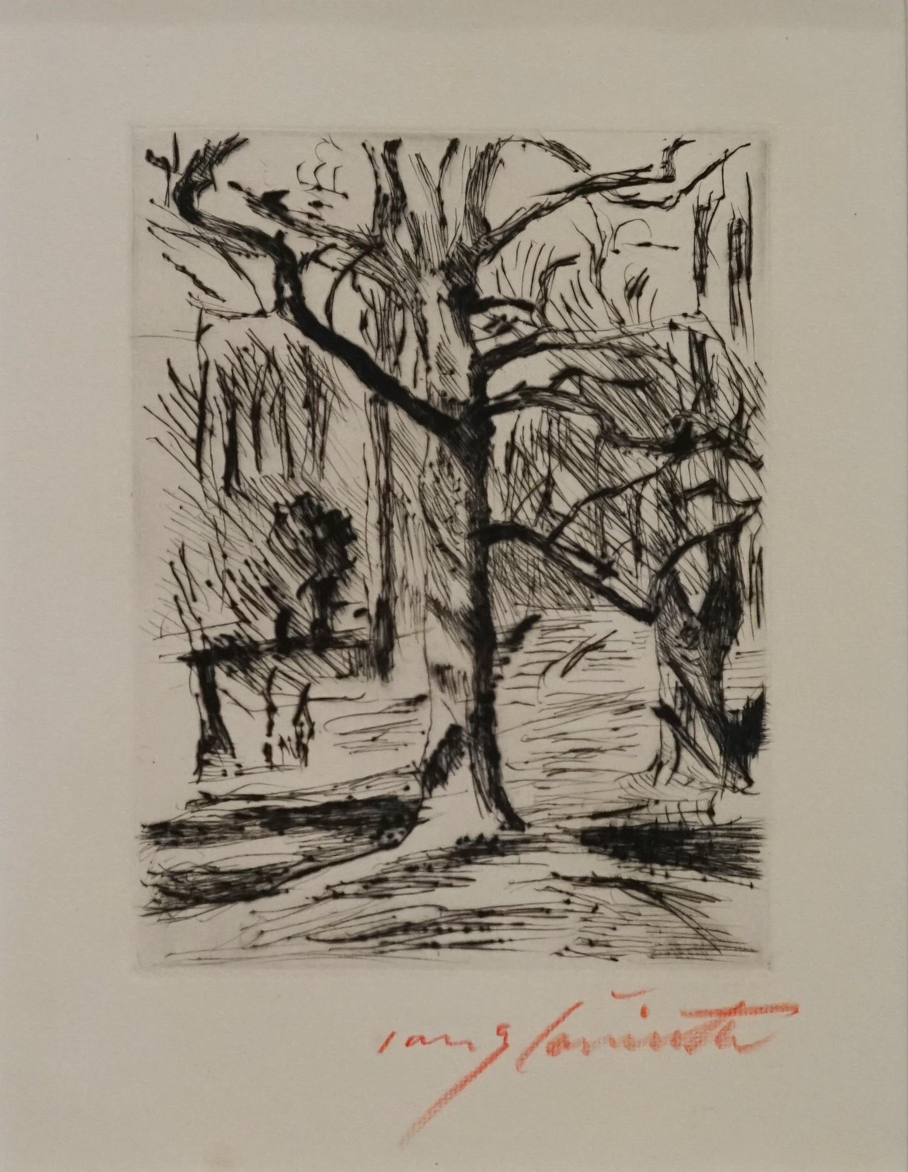 Im Tiergarten by Lovis Corinth