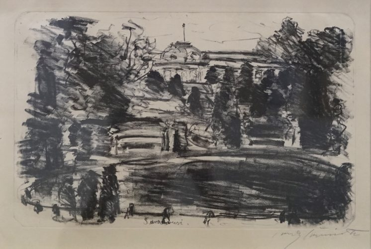 Sanssouci by Lovis Corinth at Lovis Corinth