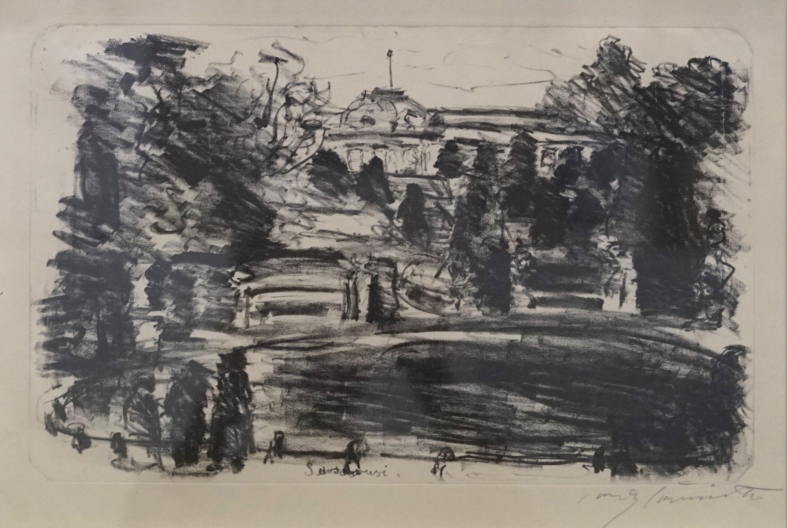 Sanssouci by Lovis Corinth