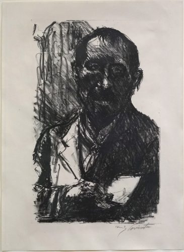 Selbstbildnis by Lovis Corinth at Lovis Corinth