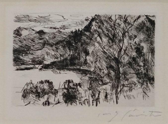 Walchensee mit Jochberg by Lovis Corinth at Lovis Corinth