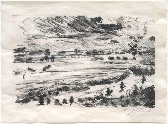 Weite Landschaft by Lovis Corinth at