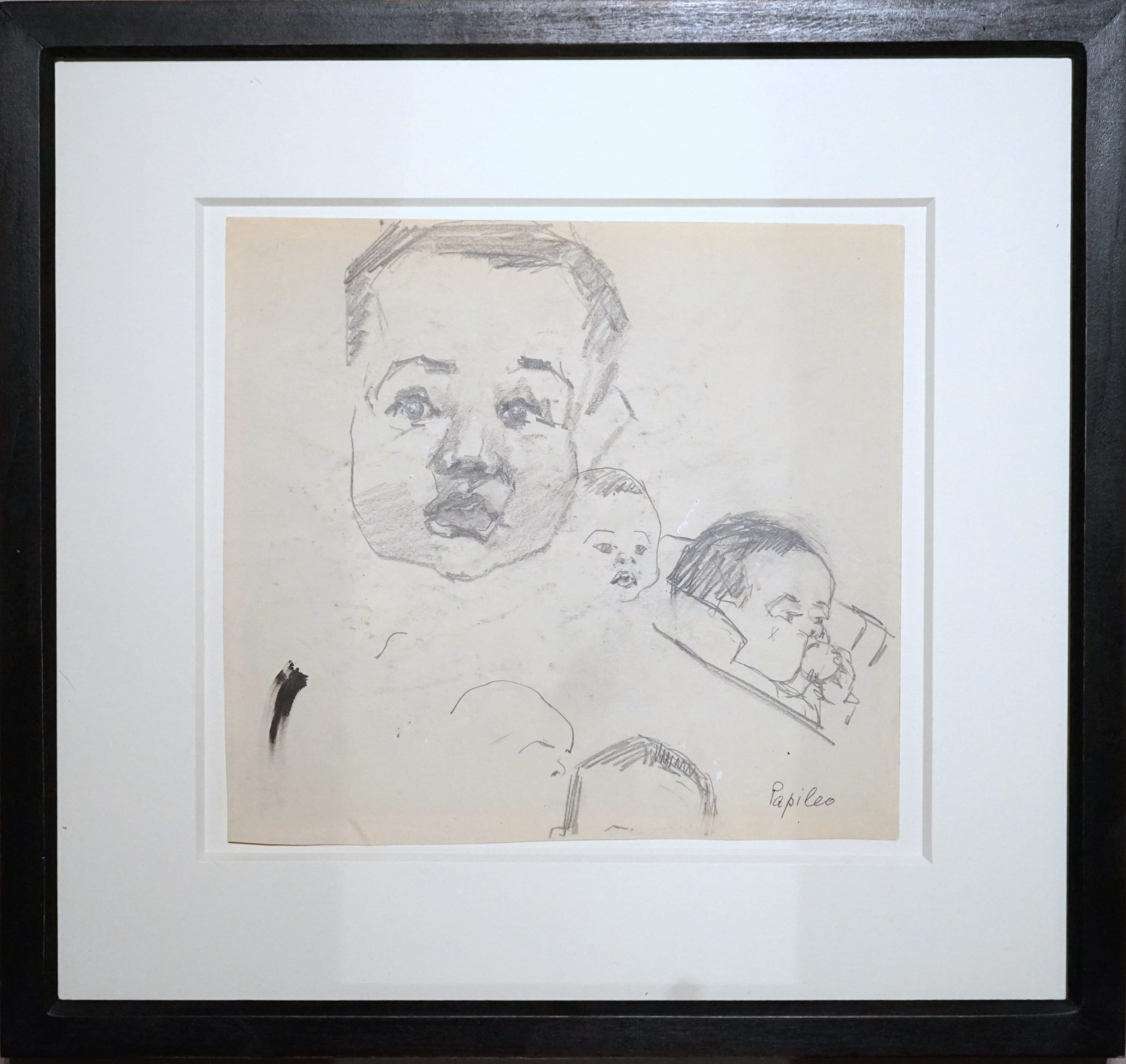 Portrait Andreas Feininger by Lyonel Feininger