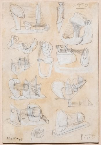 Ideas for Stringed Figures by Henry Moore