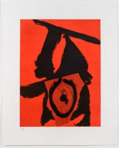 Red Queen by Robert Motherwell