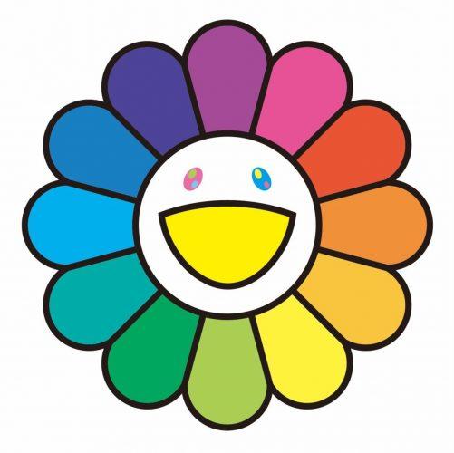 Rainbow Flower by Takashi Murakami