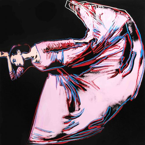 Martha Graham: Letter to the World (The Kick) by Andy Warhol