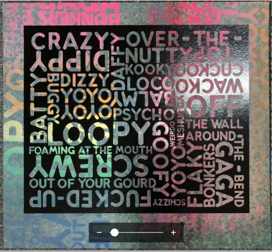 Crazy (with Background Noise) by Mel Bochner at
