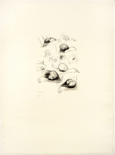 Lullaby Sketches by Henry Moore