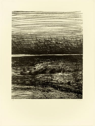 Windswept Lanscape by Henry Moore