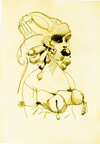 Bust by Claes Oldenburg