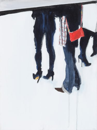 At the Exhibition III by Jacqueline Ostermann