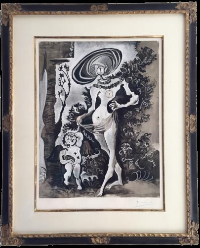 Venus et l'Amour Voleur de Miel by Pablo Picasso at Pablo Picasso