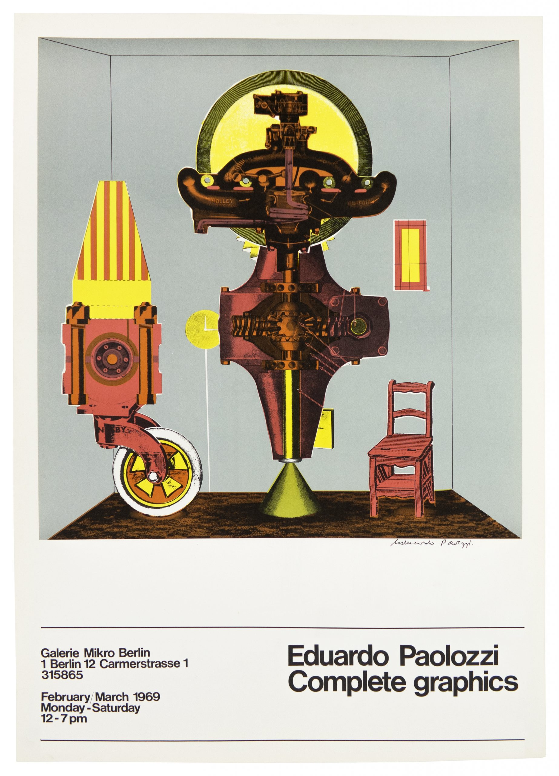 Galerie Mikro 1969 (Metaphysical Translations) by Eduardo Paolozzi