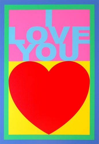 I Love You – Replay by Peter Blake