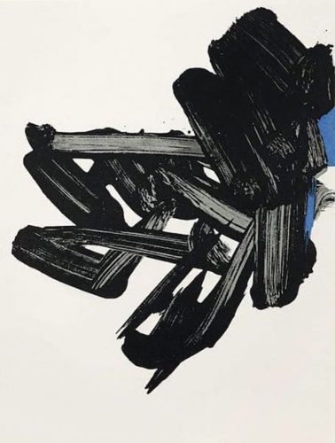 Lithographie Nr 17 by Pierre Soulages