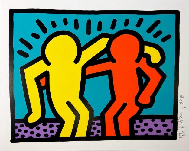 Pop Shop I (A) by Keith Haring