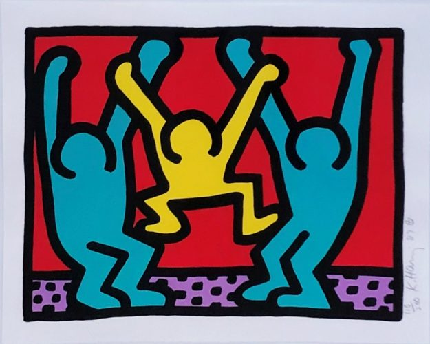 Pop Shop I (B) by Keith Haring