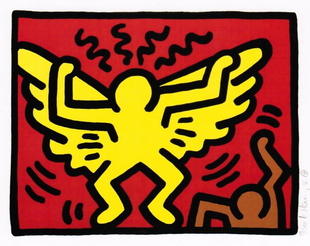 Pop Shop IV (A) by Keith Haring