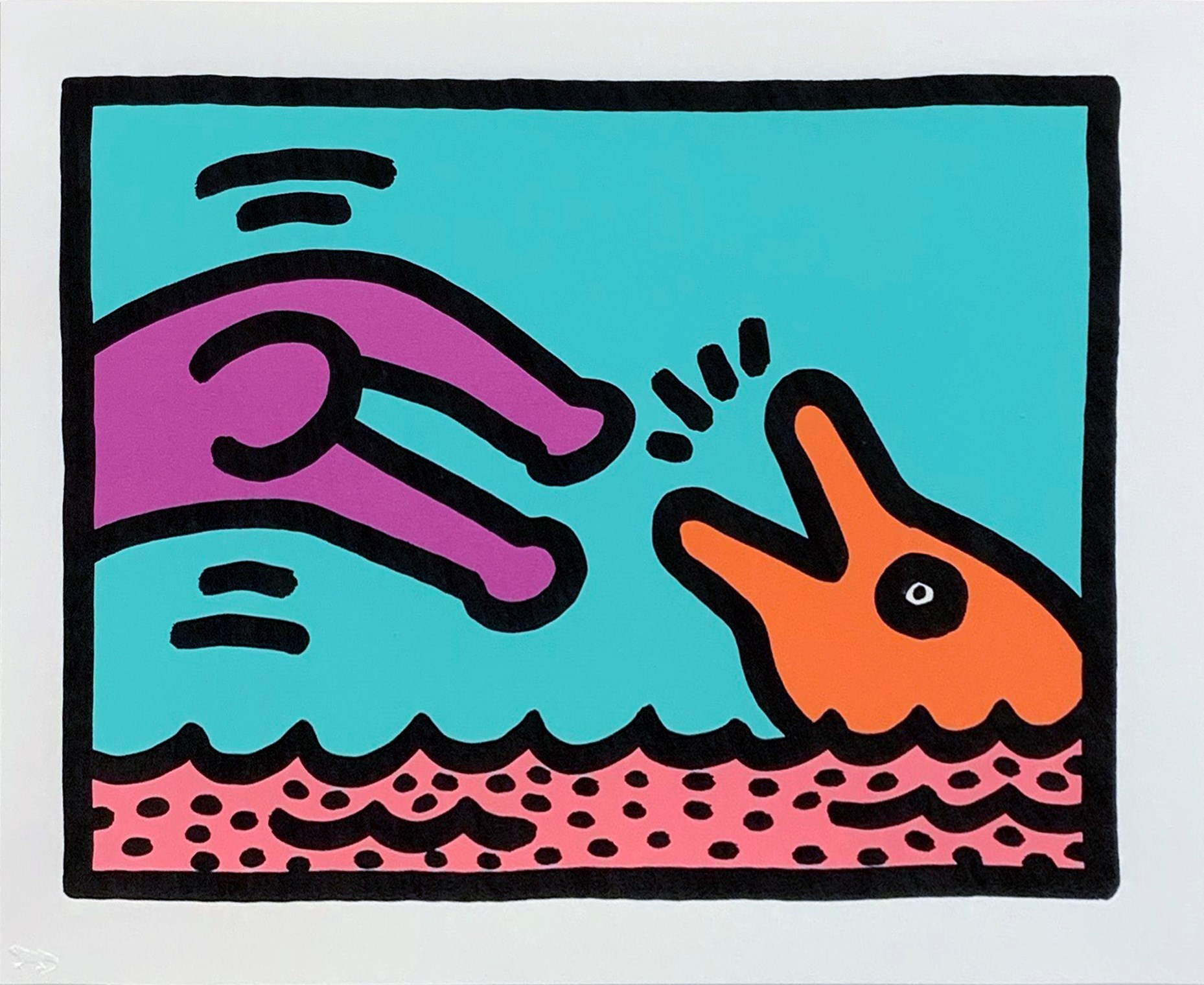 Pop Shop V (A) by Keith Haring