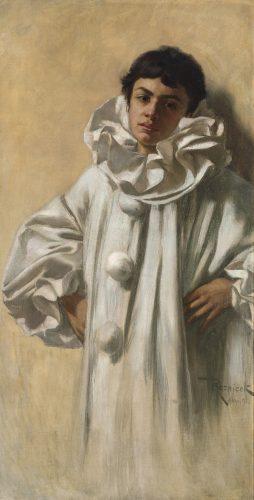 Pierrot by Ferdinand von Reznicek