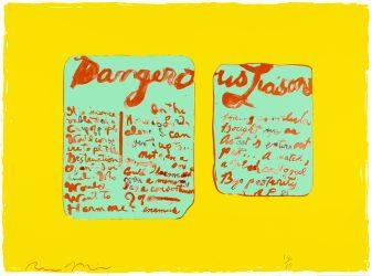 Dangerous Liaisons by Rene Ricard at Petersburg Press