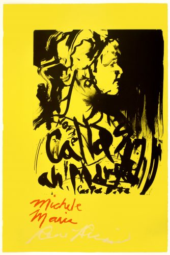 Michele Maria by Rene Ricard