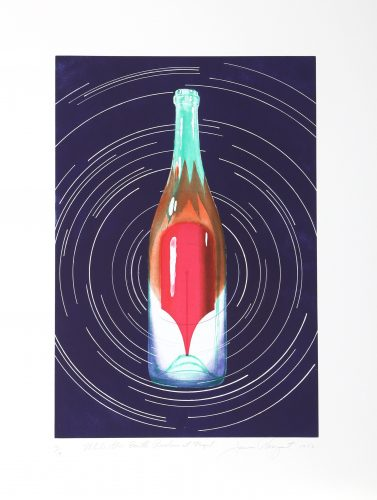 While the Earth Revolves at Night by James Rosenquist