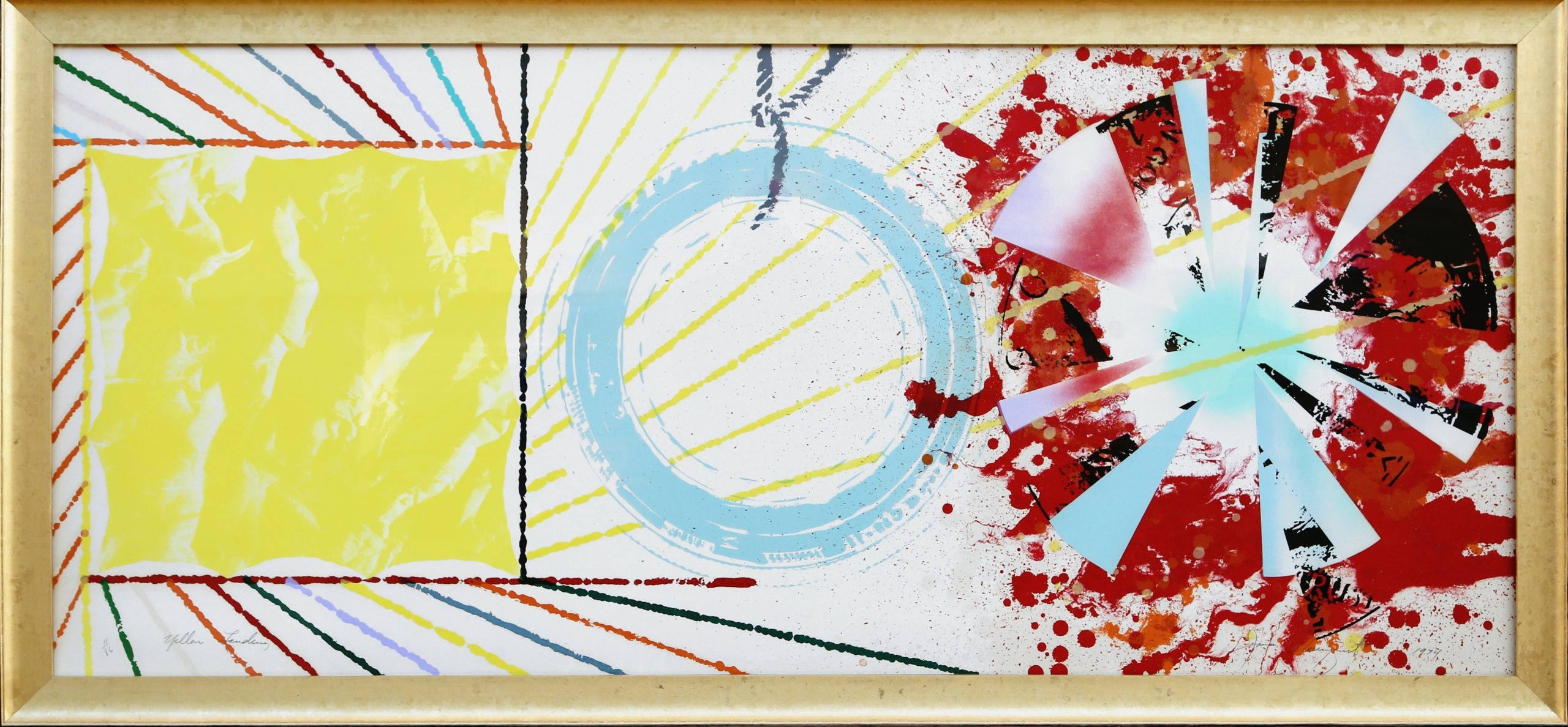 Yellow Landing by James Rosenquist