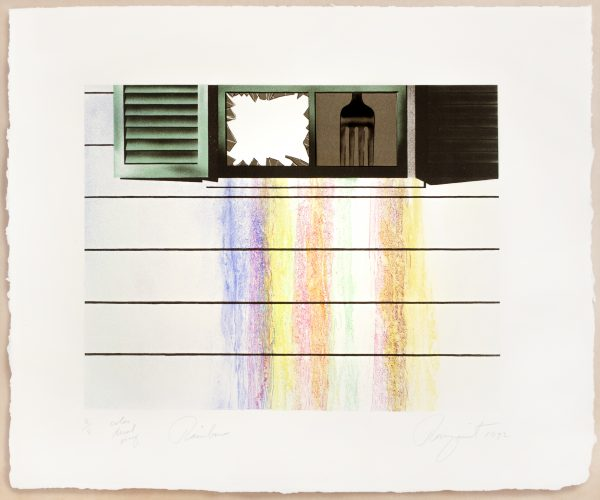 Rainbow (Color trial proof) by James Rosenquist
